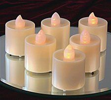 Tall Tea Lights Amber LED - Battery Operated Set - 12 by BOC Select, http://www.amazon.com/dp/B005OOWS1G/ref=cm_sw_r_pi_dp_Ktezrb0D4TZJR