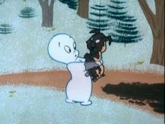 Casper the Friendly Ghost is surprised to find Squealy the Pig is covered in mud again. Retro Cartoons, Old Cartoons, Cartoon Icons, Vintage Cartoon, Casper Cartoon, Casper Ghost, Cute Cartoon, Casper The Friendly Ghost, Funny Art