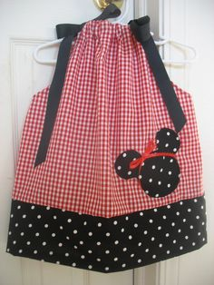 Disney Minnie Mouse Pillowcase Dress Available in by bowbakery & Another one for Q and the Disney trip :-) - Halloween Minnie Mouse ... pillowsntoast.com