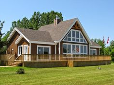 Modular Log Home In 120 Days Tip The Scale Builds