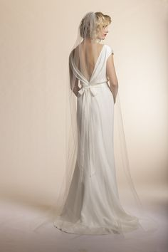 Amy Kuschel's Clover Gown Back View