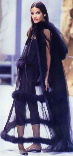 CHANEL COUTURE FALL 1991 | HELENA CHRISTENSEN & CLAUDIA MASON
