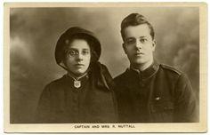 SALVATION ARMY, Captain & Mrs R. Nuttall c1915 RP postcard. [210 | eBay