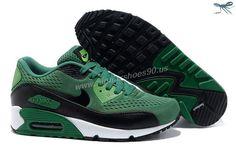 d58c3d94189d Nike Store For Air Max 90 Premium EM Mens Trainers Lucky Green Black Hip  Hop