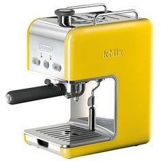 Mmm, espresso in tweety bird yellow.
