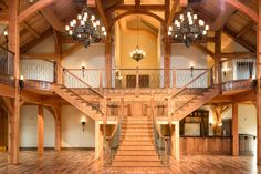 The beautiful staircase in the Grand Hall at Heartland Place, 81 Ranch, Enid, Oklahoma. www.81ranch.com