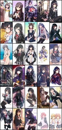 Yahari Ore no Seishun Love Comedy wa Machigatteiru - Oregairu Manga Online Anime Girl Hot, Kawaii Anime Girl, Anime Art Girl, Anime Oc, Manga Anime, Yahari Ore No Seishun, Sword Art Online Wallpaper, Anime Group, Ecchi