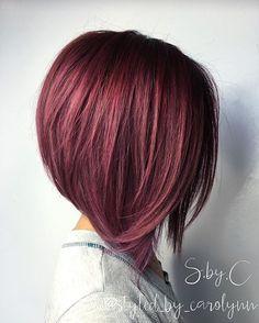 Stylish A-Line Bob Haircut Ideas Aline Bob Haircut Short Hairstyles For Women, Hairstyles Haircuts, Latest Hairstyles, A Line Hairstyles, Trendy Haircuts, Aline Bob Haircuts, Short Hair Cuts, Short Hair Styles, Graduated Bob Hairstyles