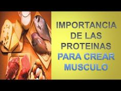 Proteinas Para Ganar Musculo - http://ganarmusculoss.blogspot.com  La importancia que tienen las proteinas en el desarrollo muscular y cuales son las mejores fuentes. Tomar proteinas favorece el desarrollo muscular, pero el consumo en exceso se convierte en un exceso de calorías se convierte en grasa acumulada.