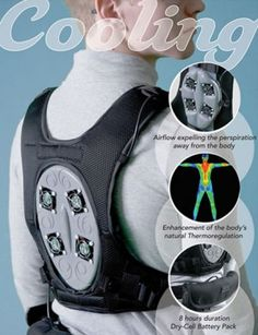 Coolware Personal Cooling System The Air Conditioner You Can Wear