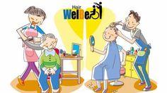 Welfare Beauty salon ウエルビ いつまでも 元気でイキイキと Family Guy, Guys, Youtube, Fictional Characters, Boyfriends, Boys, Youtubers, Men