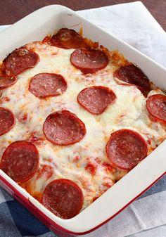 Hem pizza hem patates evet kendisi hayalden bile güzel!