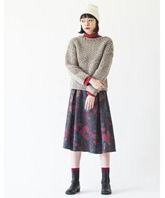 Warm KNIT #SINDEE #Kanoco #fashion