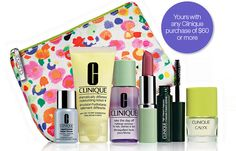 This is a Clinique gift available in Australia; at selected Pharmacies and Terry White Chemists through April 21, 2015