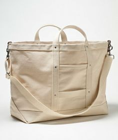#LLBeanSignature: Canvas Tote