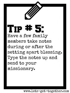 Tip #5: Take Notes         EXCELLENT!