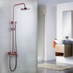 Modern Luxury Antique Copper Finish Bathroom Faucet Shower Set Mixer Tap 50320 | eBay