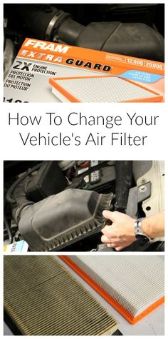 Changing your vehicle air filter is an important part of car maintenance. It is also easy! Check out this guide on how to change your vehicle air filter.
