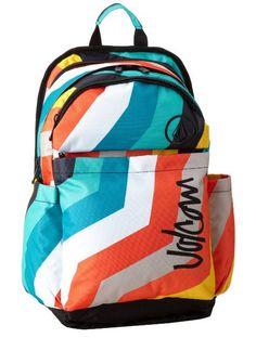 Volcom Anywhere Backpack (White Combo)