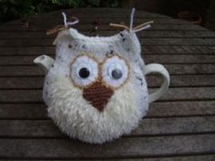 HAND KNITTED SNOWY OWL TEA COSY/COZY/COSIES/COZIES | eBay by rosanne