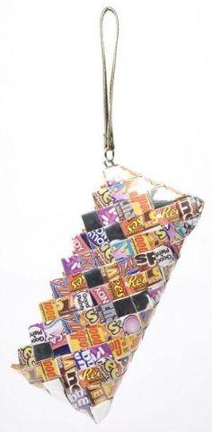 Nahui Ollin Candy Wrapper Bags Candy Clutch Wristlet Hershey Best