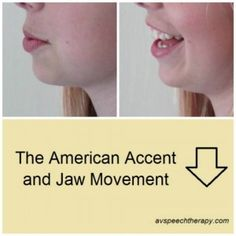 The American Accent & Jaw Movement - Learn the positions of the jaw for improved English pronunciation (accent modification).