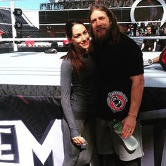 Tonight on #TotalDivas you will get a look backstage to Wrestlemania. Don't miss it at 9/8c only on E! ❤️ #Braniel #WWE
