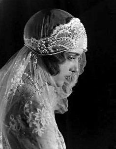 1920s Wedding Veil