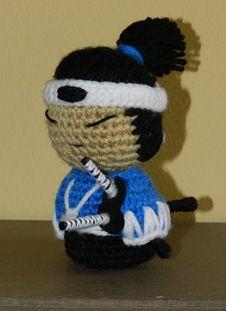 samurai amigurumi