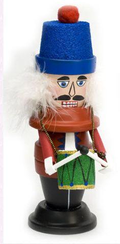 DecoArt® Nutcracker Drummer #claypot #craft #christmas