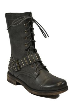 Red Bank Studded Boot