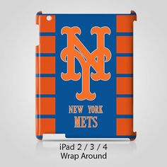 New York Mets iPad 2 3 4 Case Cover