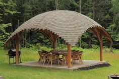 Строительство современных садовых беседок в Lago Verde