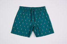 Podenco Eivissa Forrest Green Seahorse print swim shorts To buy: https://www.etsy.com/listing/213791263/forest-green-seahorses-mens-swimwear?ref=shop_home_active_13
