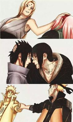 ♡♡♡ The Sasuke one touched me in the feels...that one is adorable...