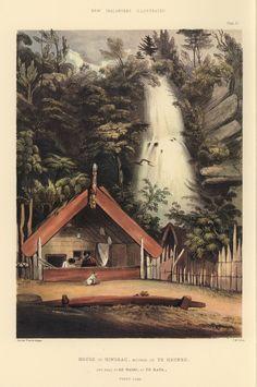 NZ marae, illustration in a book cool! Nz Art, Art For Art Sake, Abstract Sculpture, Sculpture Art, Metal Sculptures, Bronze Sculpture, Polynesian People, Polynesian Art, Maori Tribe