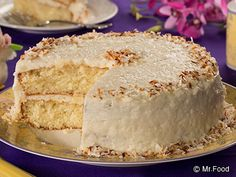 This coconut cake was a hit in the Test Kitchen. No one could even guess that it started off with a box of cake mix!