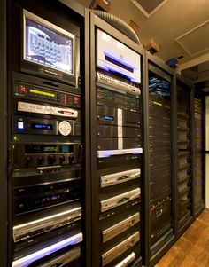 Home Automation and Theater Equipment Room