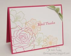 Fifth Avenue Floral Fast and EASY Card! by LorriHeiling - Cards and Paper Crafts at Splitcoaststampers