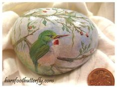 Painted Stones - Barefootbutterfly Studio