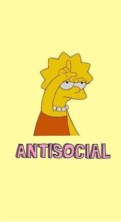 Antisocial :)