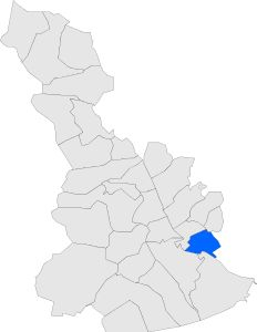 Localització de Cornellà de Llobregat respecte del Baix Llobregat.svg