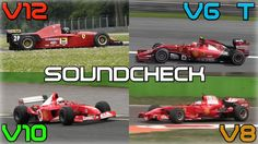 One Brand, One Racetrack: Ferrari F1 Engines Soundcheck - 2014 V6 Turbo,...