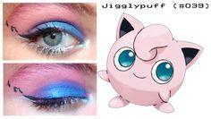 Pokemon Makeup by nazzara on DeviantArt Makeup Themes, Makeup Tips, Beauty Makeup, Eye Makeup, Makeup Ideas, Makeup Style, Makeup Inspo, Pokemon Jigglypuff, Jigglypuff Costume