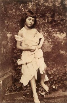 Lewis Carroll - Alice, 1859 (the real Alice in Wonderland)