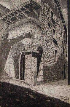 Mostra di pittura e di opere del David Giovannini a Visso