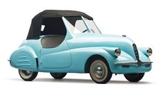 The Little Blue Car that Never Was: The Mystery of the Lost Microcar