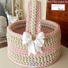 Kate's Crochet World Crochet Baby Blanket Borders, Crochet Quilt Pattern, Baby Afghan Crochet Patterns, Crochet Car, Crochet Bowl, Crochet Basket Pattern, Crochet Storage, Crochet Flower Tutorial, Crochet Decoration
