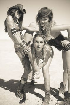 I dream of the day I have girls like this to enjoy Burning Man with!