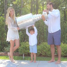 Kris Letang shared the Stanley Cup with his family in Quebec, before hosting a party for his closest friends and taking it to a public event in Quebec.